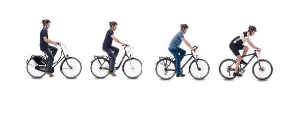 postura-de-conducción-bicicletas-electricas