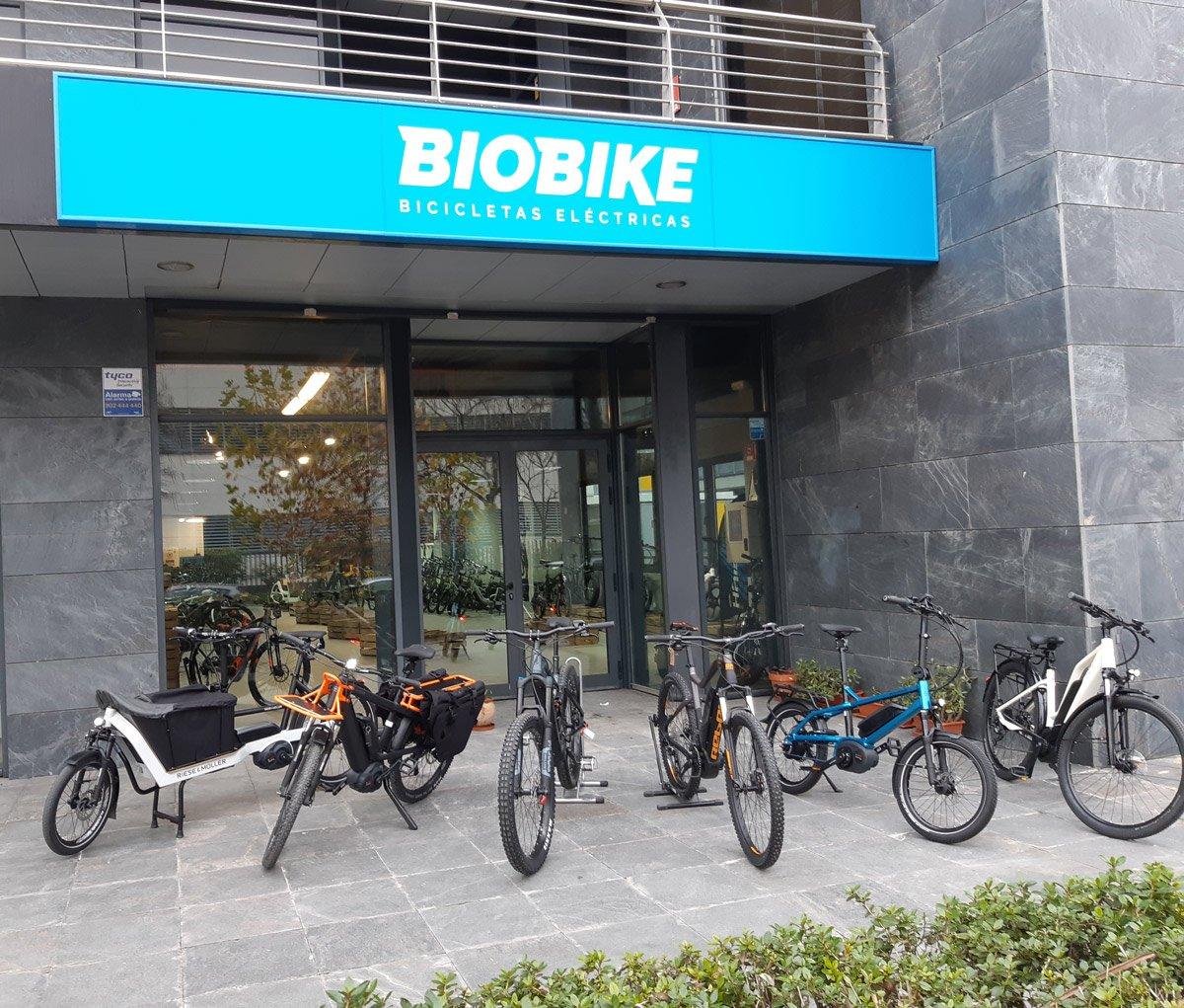 BIOBIKE - Bicicletas Eléctricas